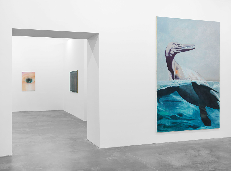 Eberhard Havekost, 'Inhalt'. Exhibition at KINDL's Power House (first floor, M1) Photography: Jens Ziehe, 2016