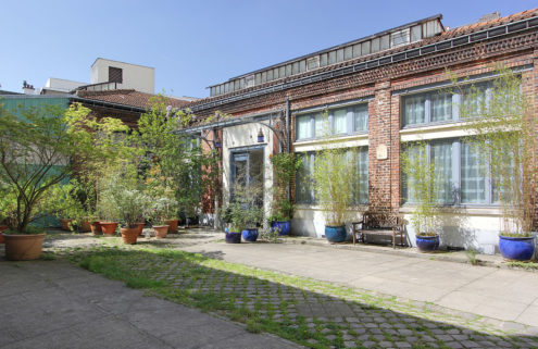 A converted mirror factory hits the market in Paris for €2.5 million