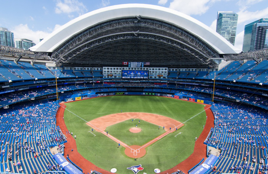 Rogers Centre ballpark in Toronto