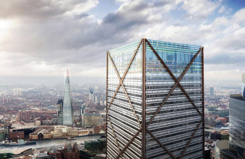 Tallest building in the City of London set for green-light