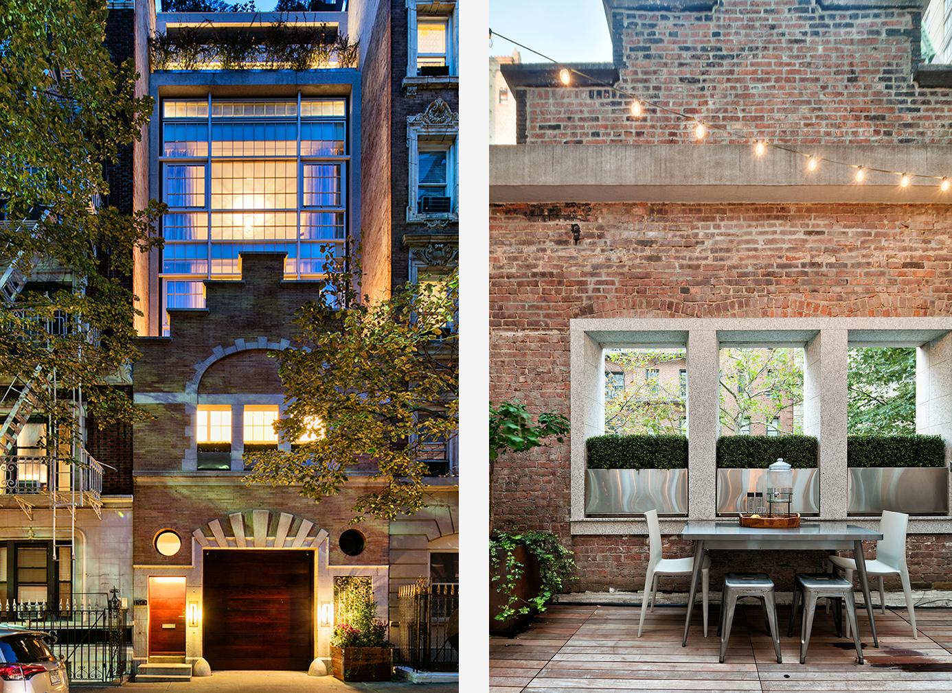 Gramercy park townhouse for sale uma thurman new york home for Townhouse for sale in manhattan