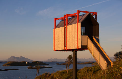 Fordypningsrommet is a new artist's retreat in the Arctic Circle