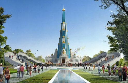 Indian temple will be the world's tallest religious skyscraper