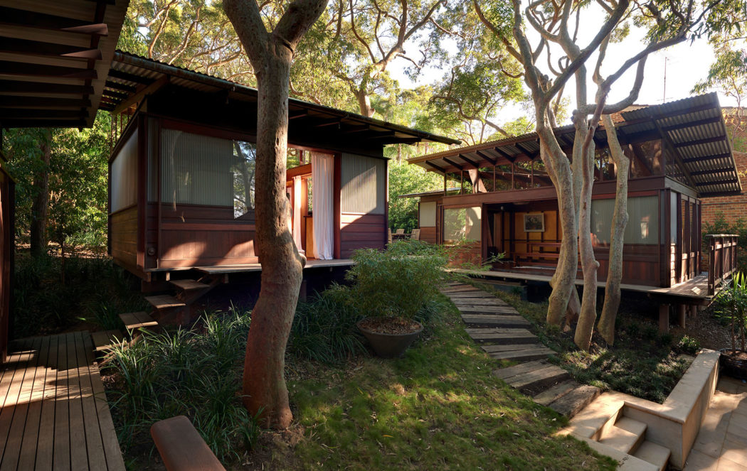 Angophora House designed by Richard Leplastrier