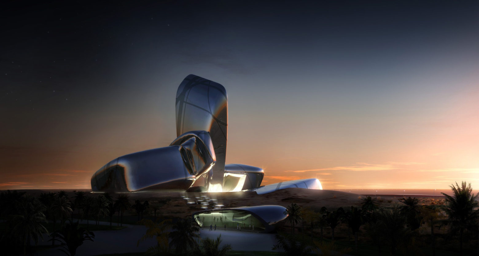 New museum the King Abdulaziz Centre for World Culture