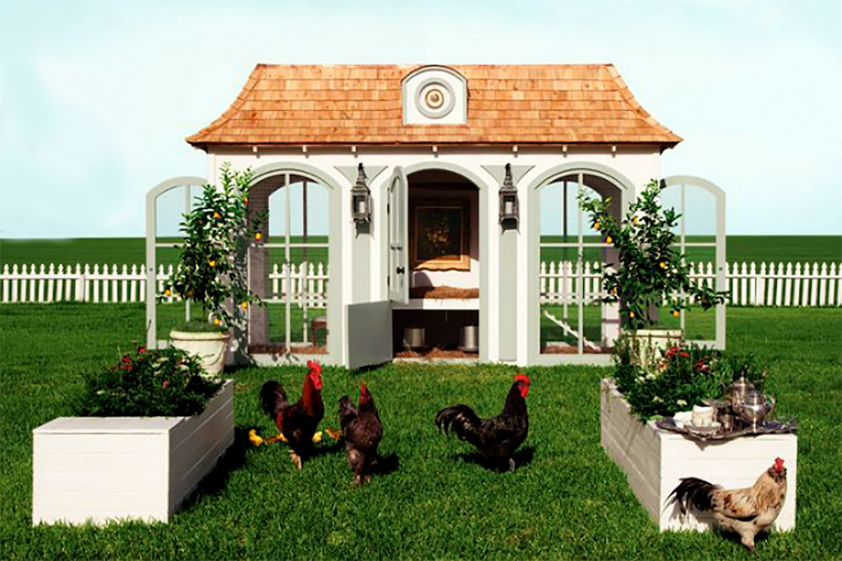 House design dog - Hen House
