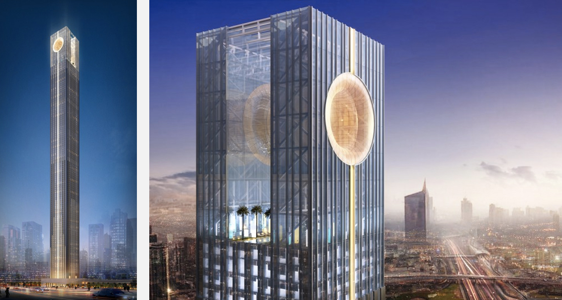 Tallest buildings topping out in 2017 – Marina 106 UAE