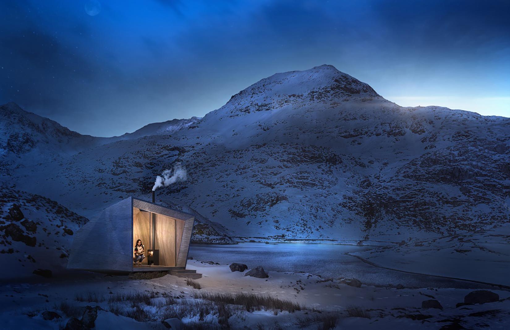 Epic retreats – Wales cabin
