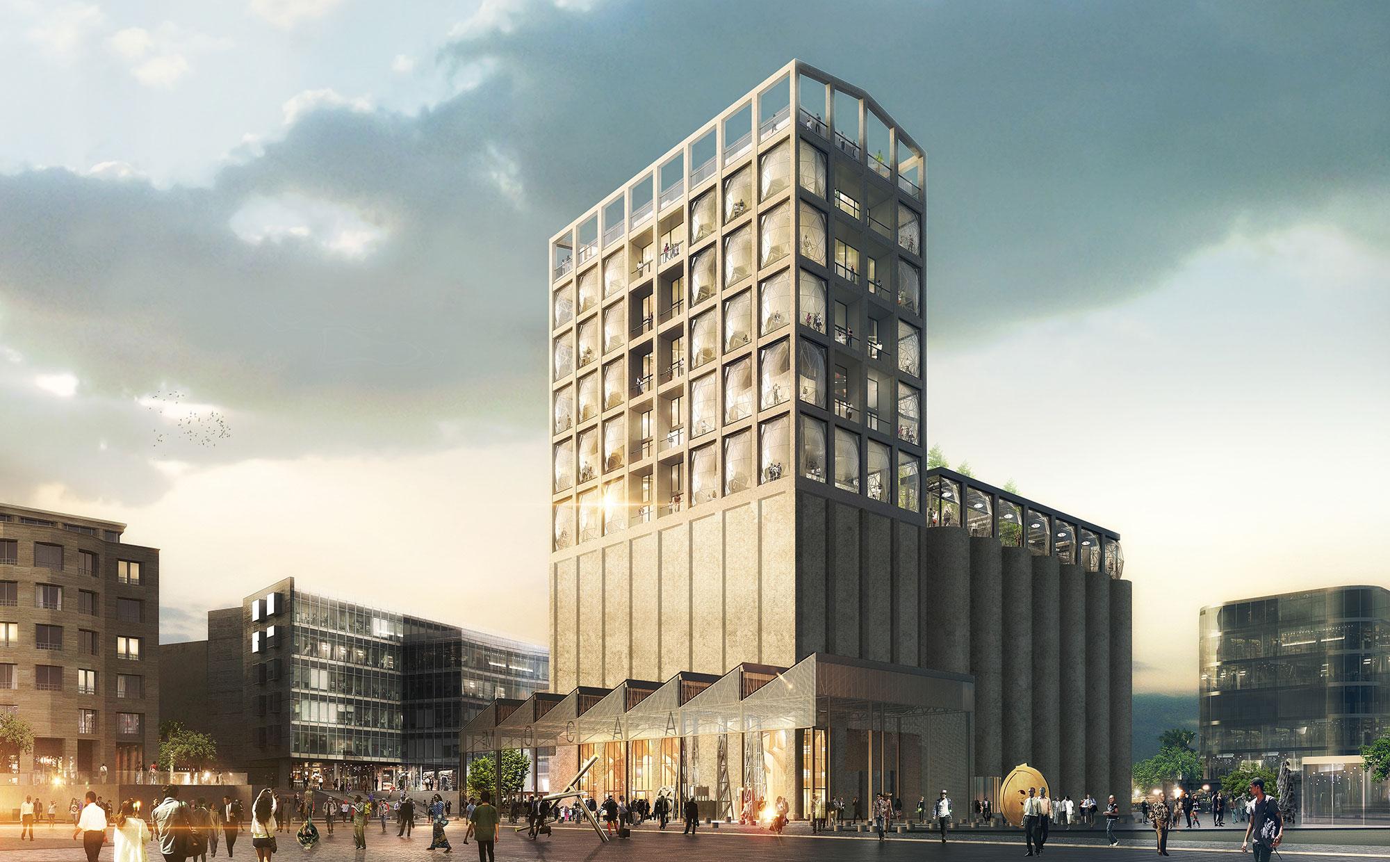 New museum Zeitz Mocaa