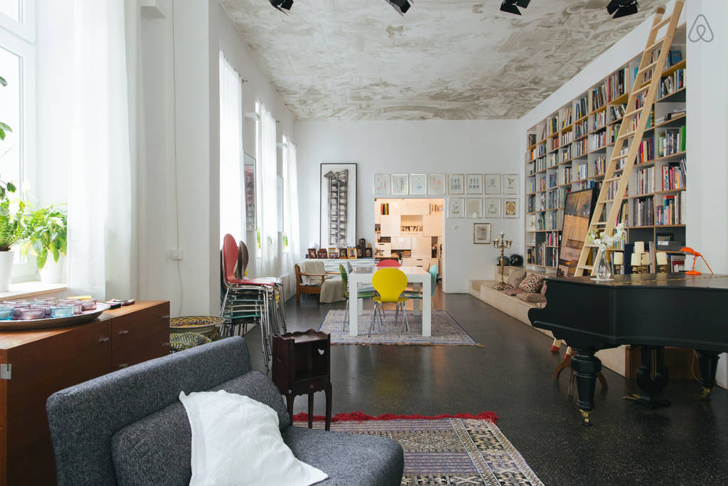 Berlin apartments to rent - Del Pozzo loft in Mitte