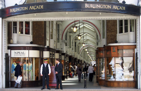 London's historic Burlington Arcade goes on sale for £400m