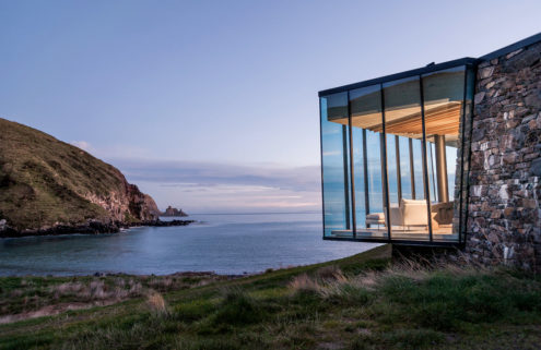 Holiday home of the week: a cottage on a private beach in New Zealand