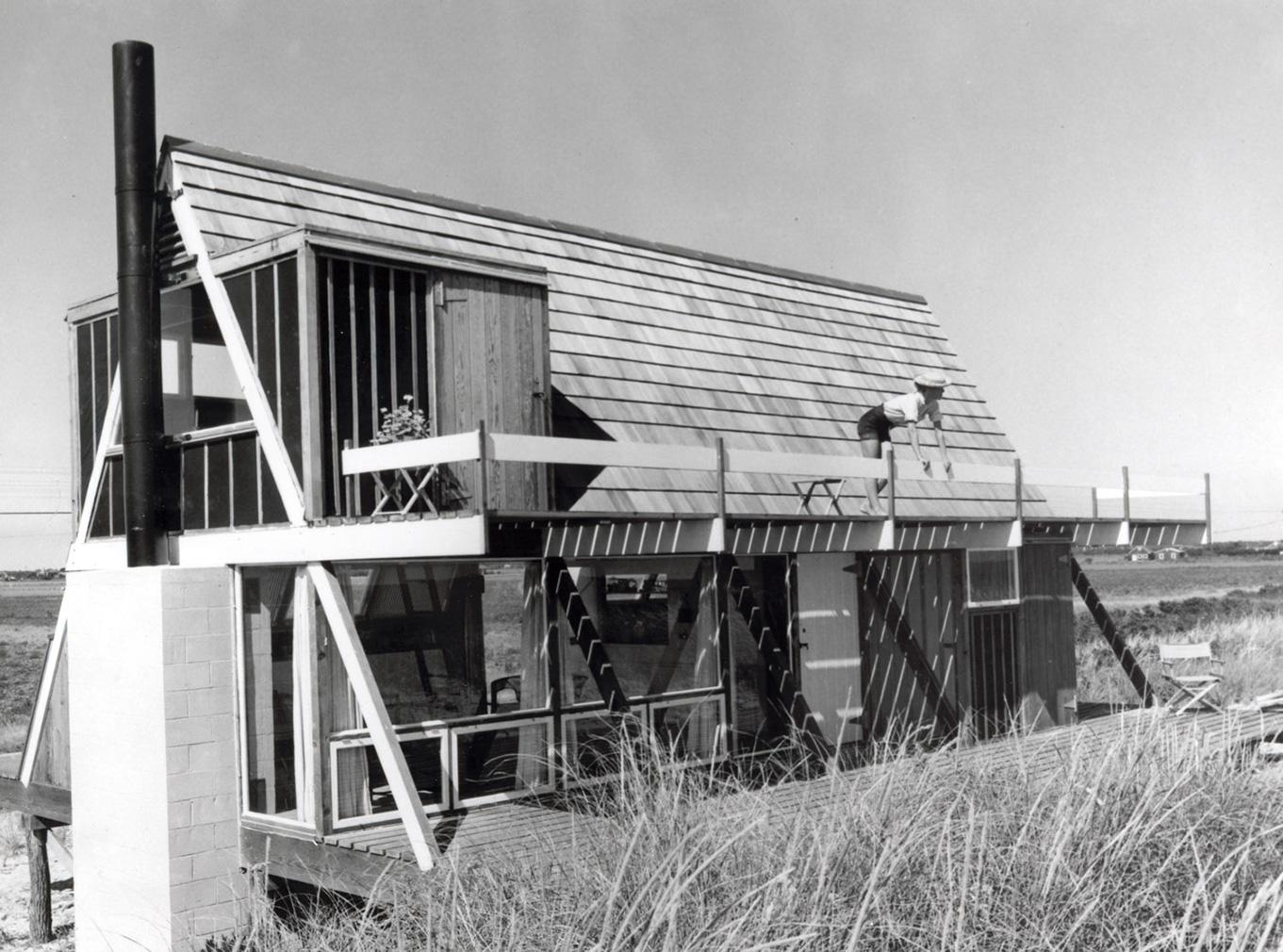Midcentury cabins: Elizabeth Reese House by Andrew Geller