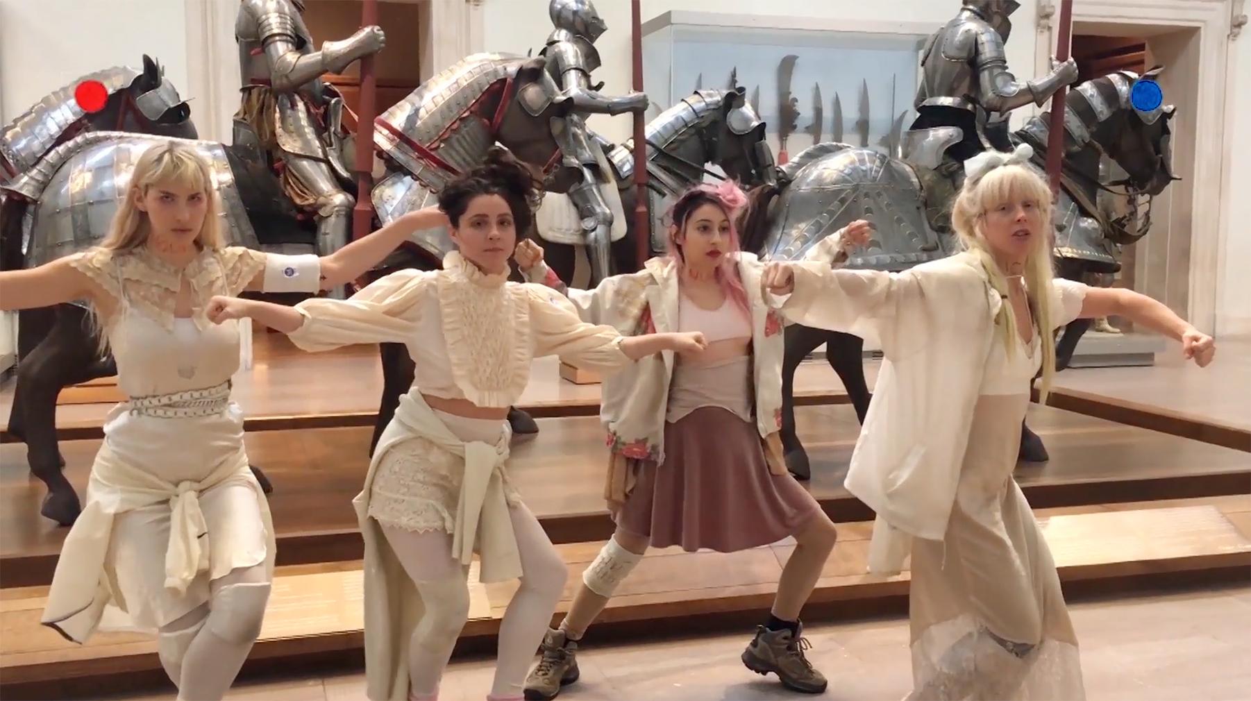 Daughters music video inside The Met