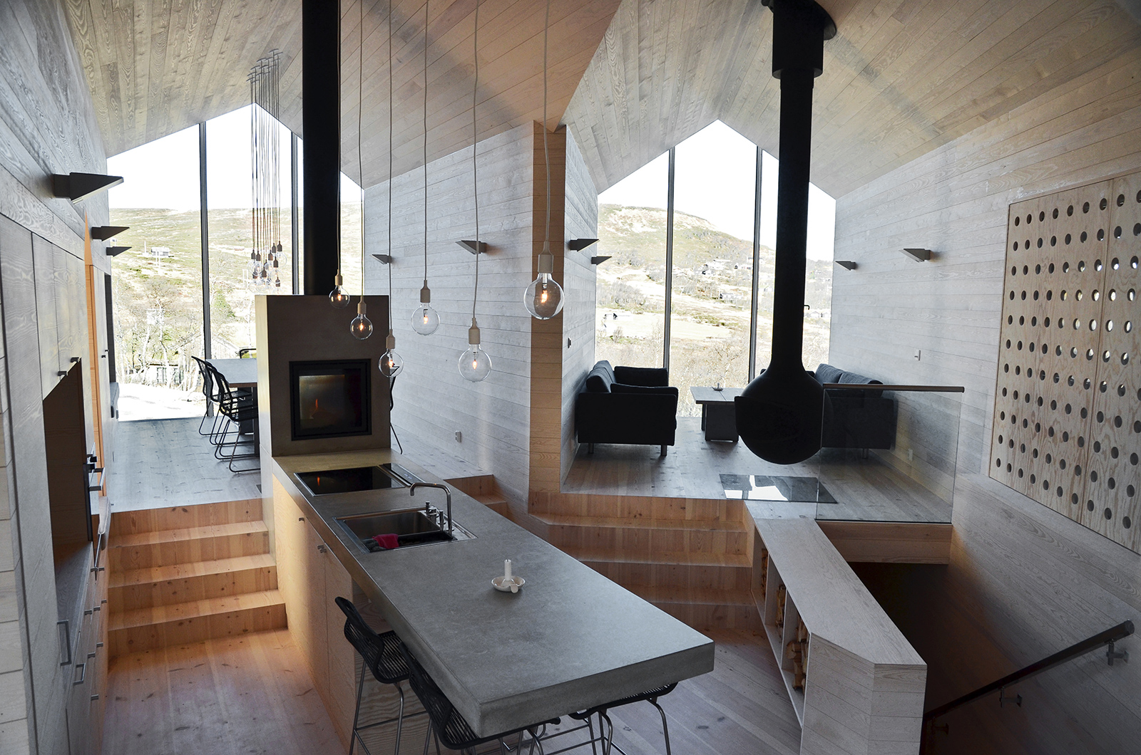 Chalet design the 9 best architects to create your for Mountain lodge architecture