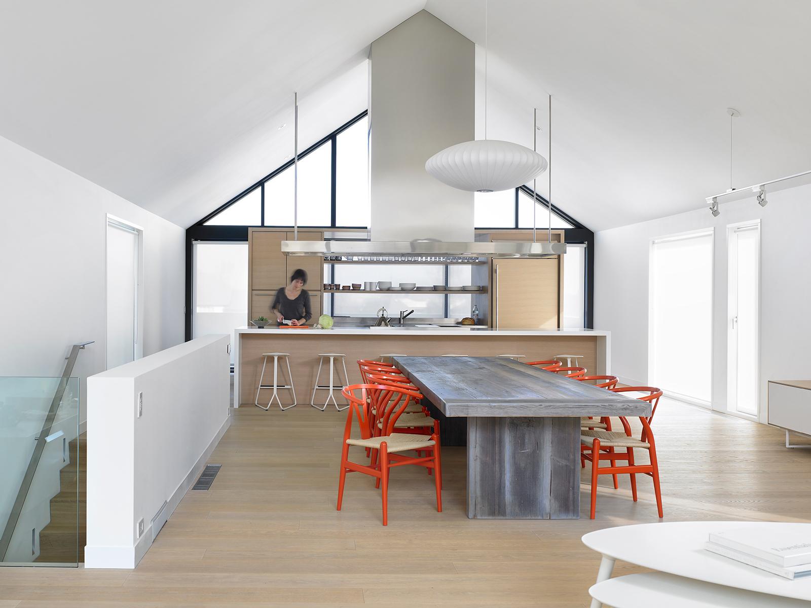 Views modern chalet architecture in canada best of interior design - Atelier Kastelic Buffey Canada