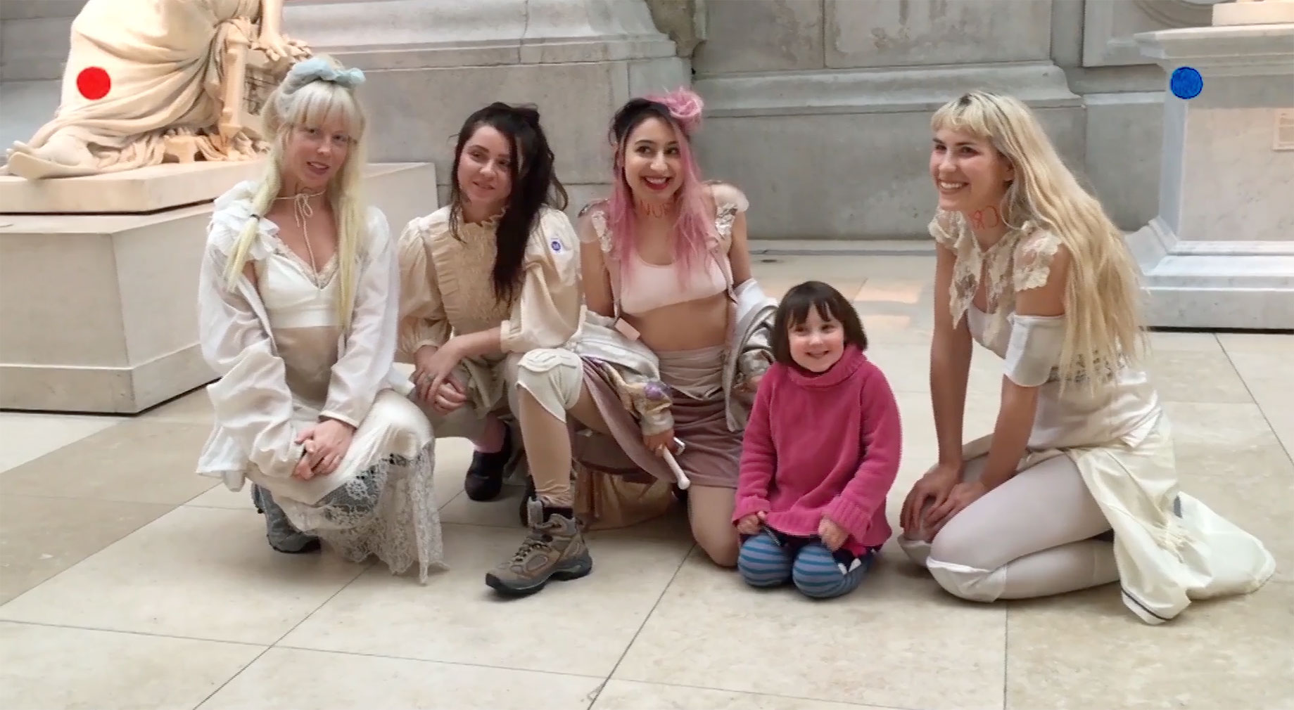 Daughters music video, shot inside The Met