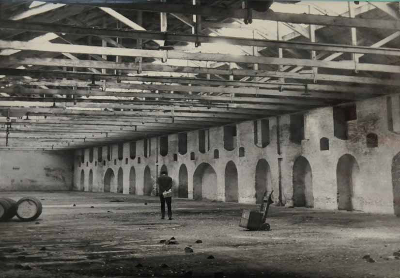 Historical image of 'The Rum Factory' on Pennington Street, Wapping