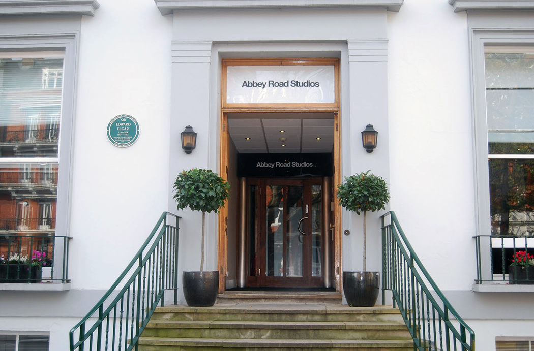Abbey Road Studios entrance