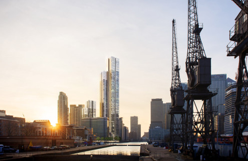 UK's tallest residential tower gets the green light