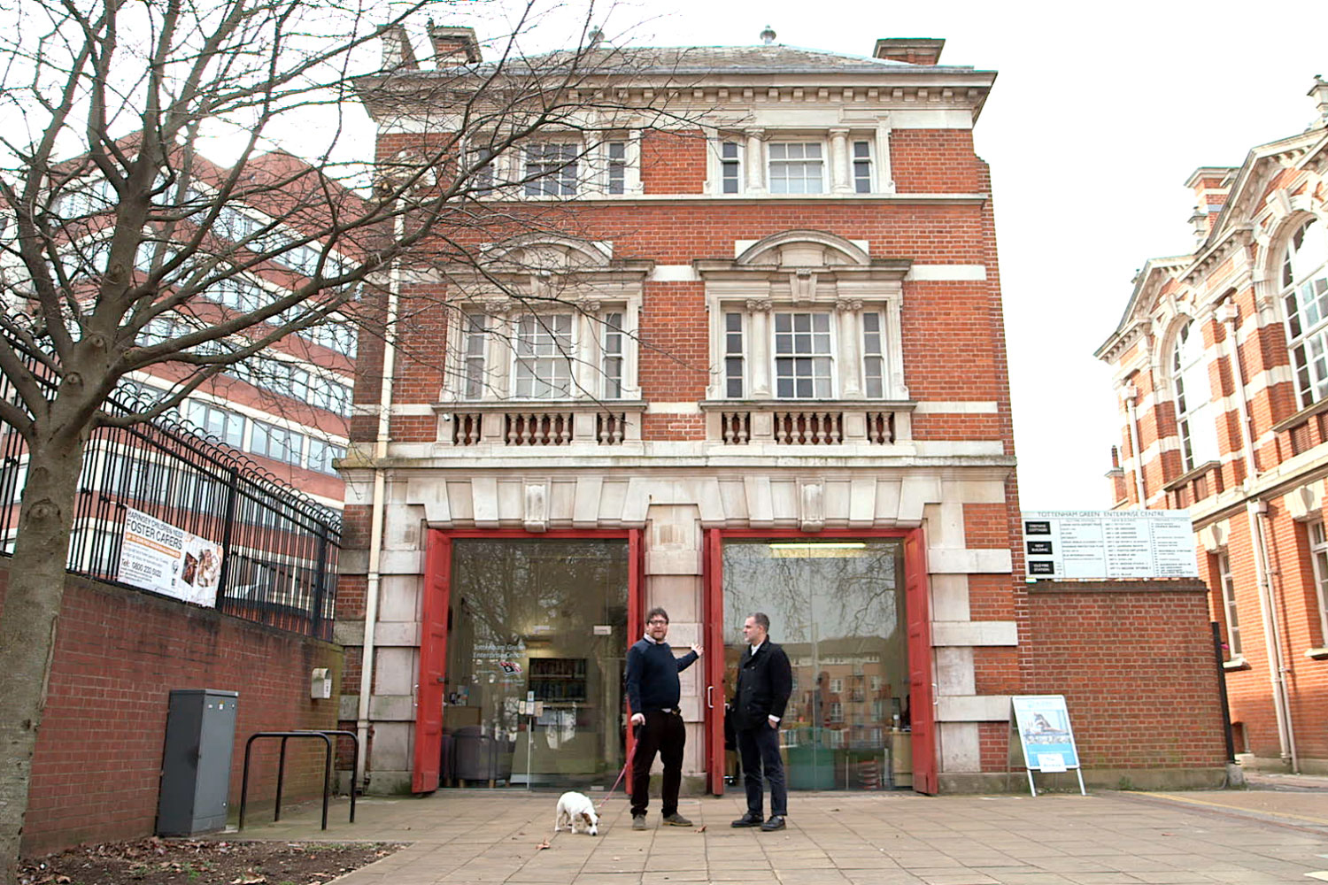 Chicken Town in Tottenham will be housed in a decommissioned Victorian fire station