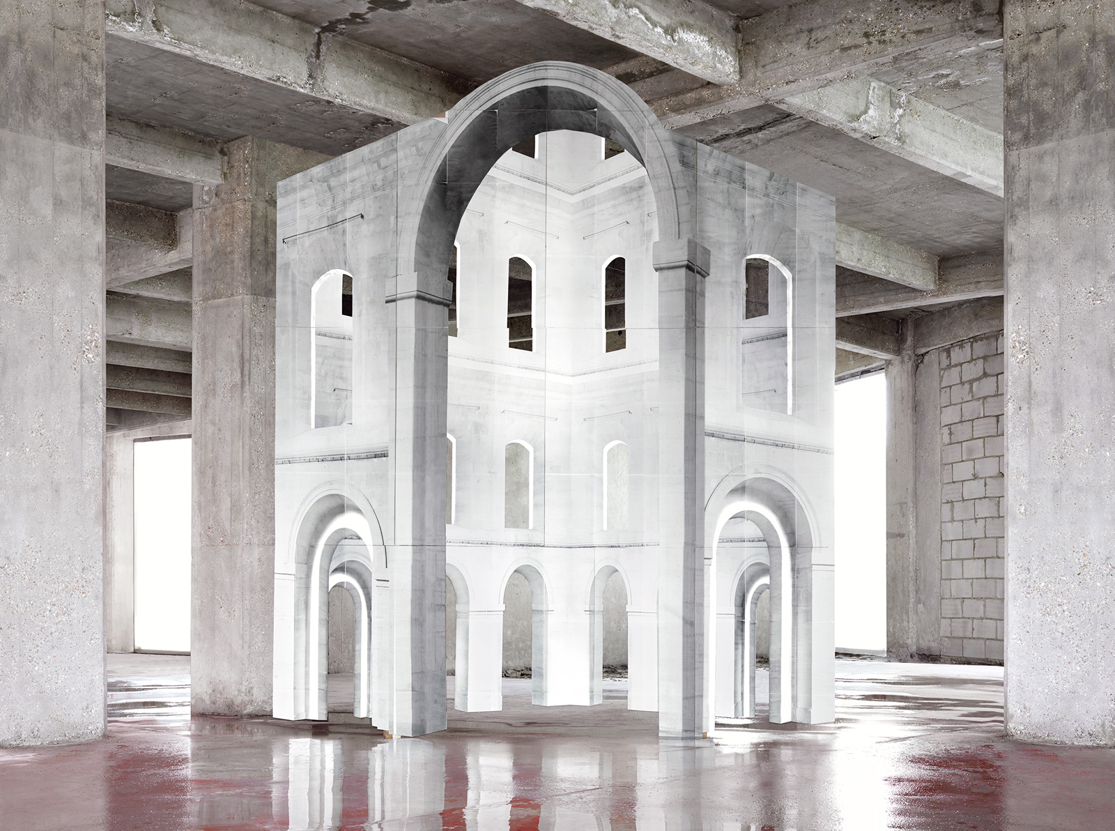 In Search of the First Line III (c) Noemie Goudal. Courtesy Edel Assanti, London