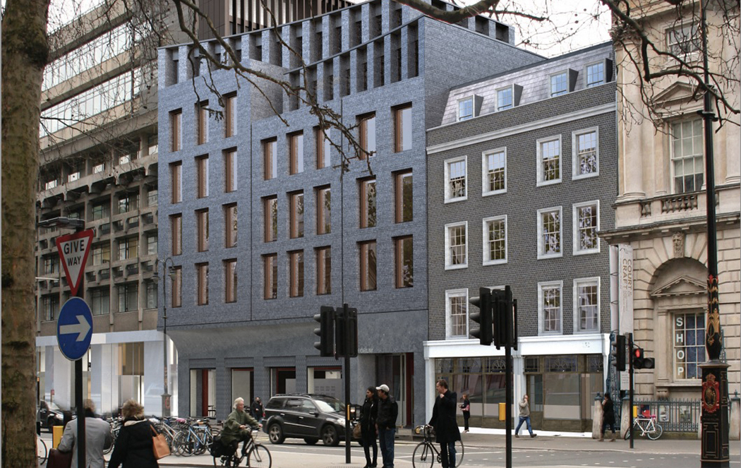 Hall McKnight's proposed new building for King's College London