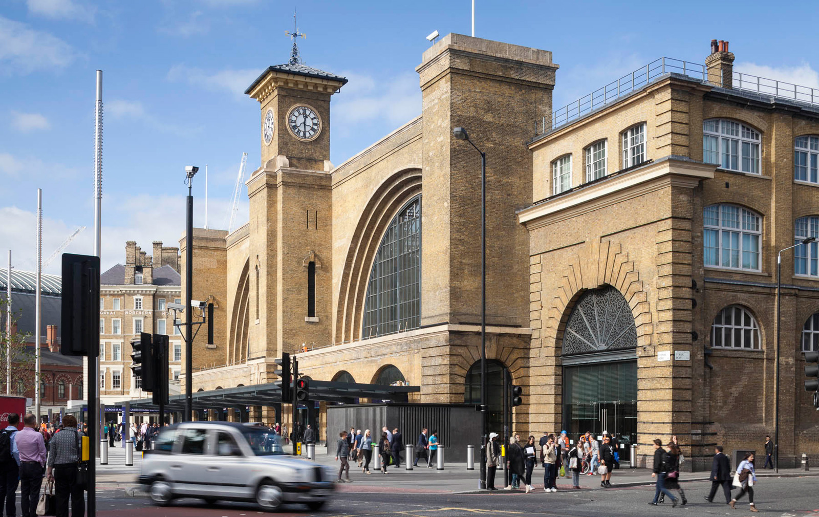 The East Side of King's Cross Station is home to The Office Group's co-working space