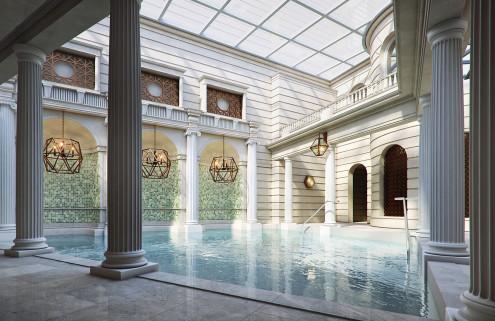 The Gainsborough Bath Spa revives ancient Roman spaces