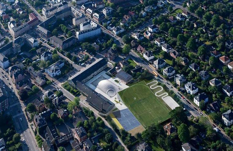 Bjarke Ingels Group's Gammel Hellerup High School