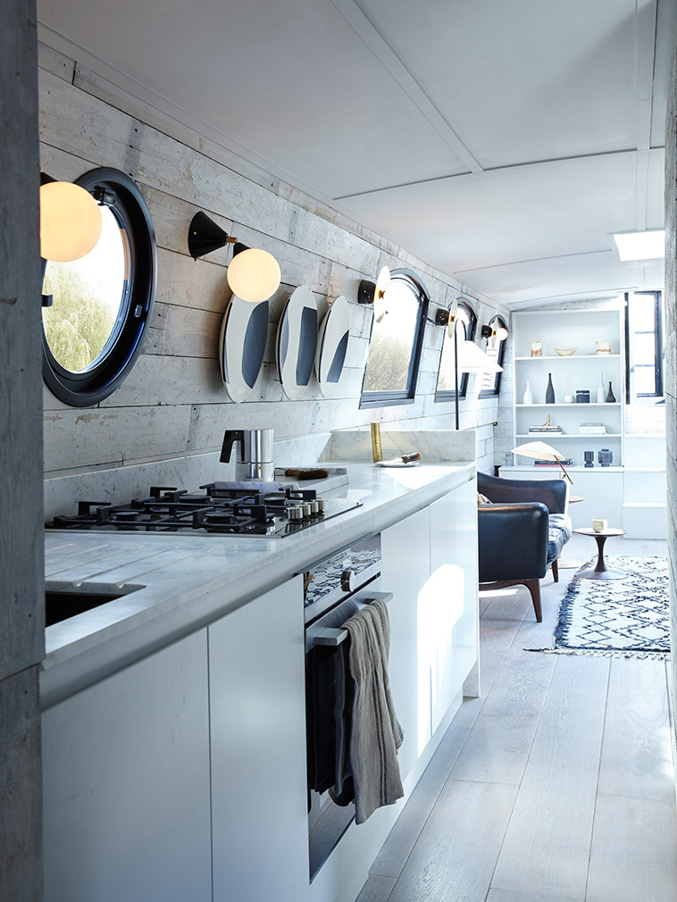 Bert may launch new barge concept for Narrowboat interior designs