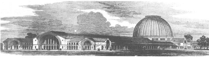 Brunel's design for the Crystal Palace