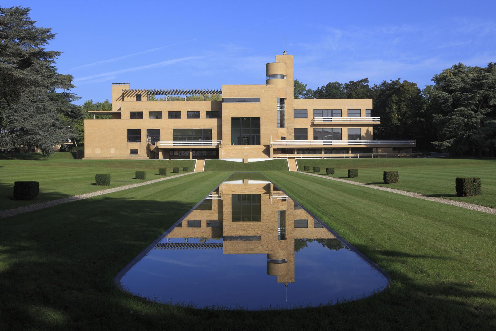 Villa Cavrois' south facade. Photography: Jean-Luc Paillé / Centre National Monuments