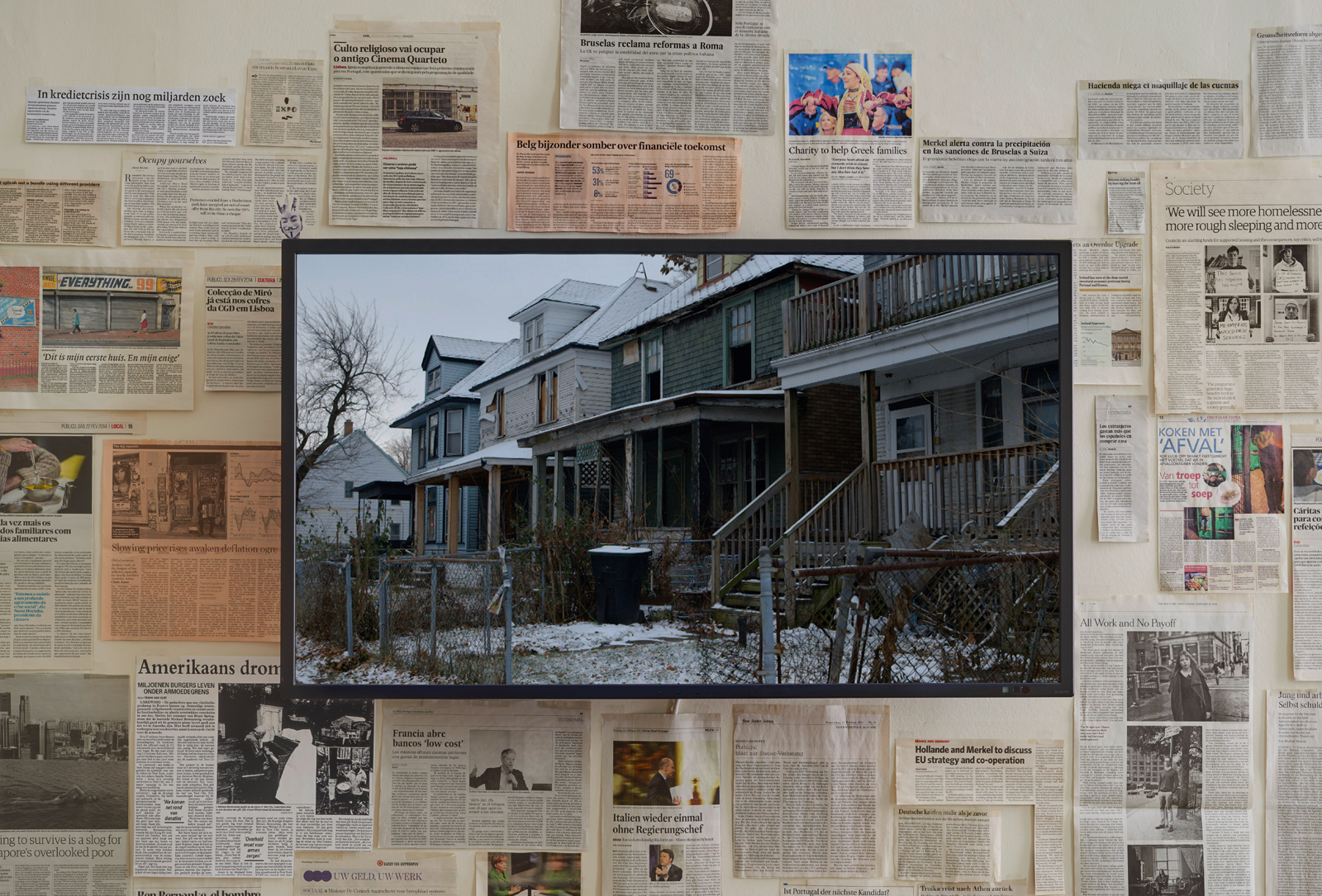 Fiona Tan, 'Ghost Dwelling II', Detroit. 2014.  Courtesy the artist and Frith Street Gallery, London.
