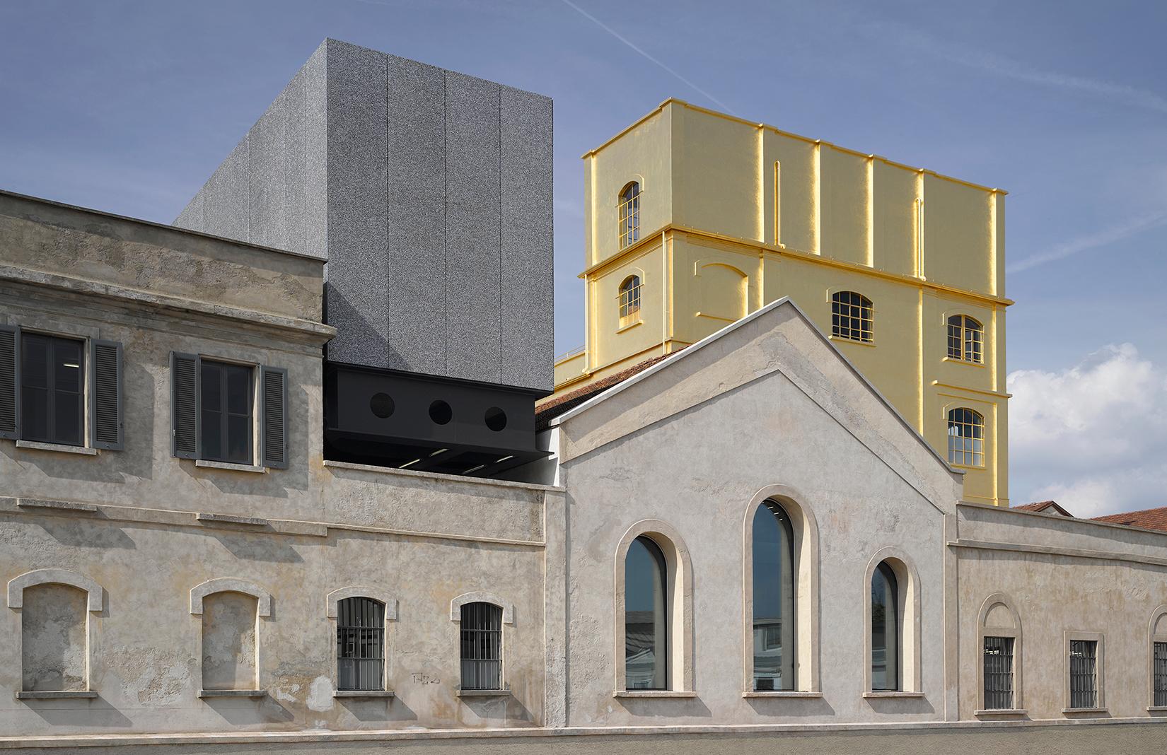 The Fondazione Prada in Milan, designed by OMA