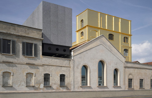 OMA's Fondazione Prada melds old and new in Milan