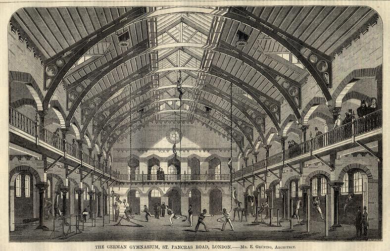 German-Gymnasium-illustration