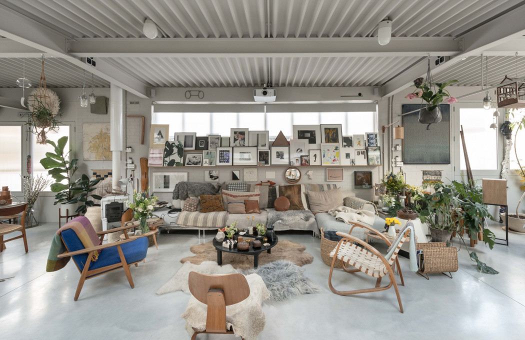 House Of The Week An Islington Factory Of Art Designed By 6a Architects