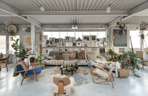 House of the week: an Islington factory of art designed by 6a Architects