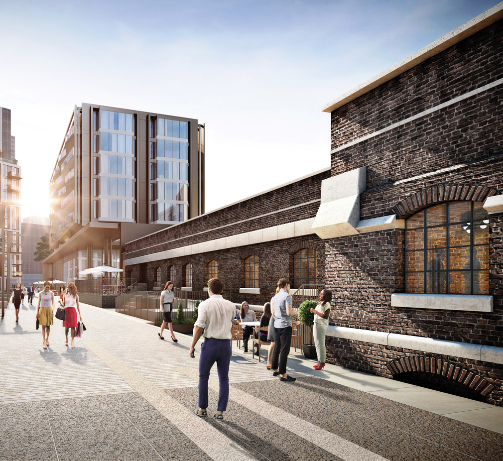A render of Pennington Street development by St George