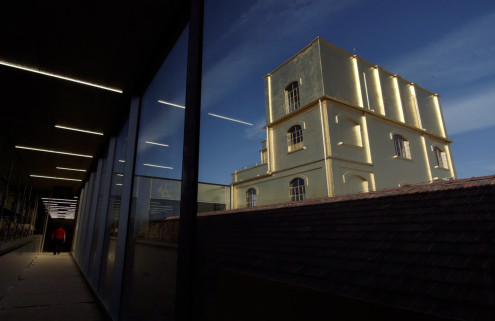 Filmmakers offer a glimpse inside Fondazione Prada ahead of its opening