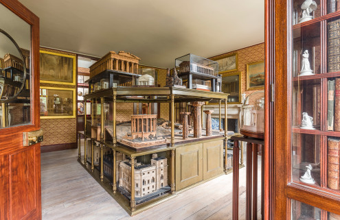 Sir John Soane's private apartments revealed for the first time in 160 years
