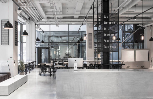 Usine restaurant transforms a Stockholm sausage factory