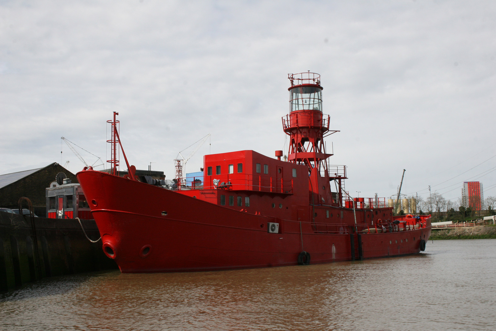 Exterior Lightship95. Courtesy of the studio