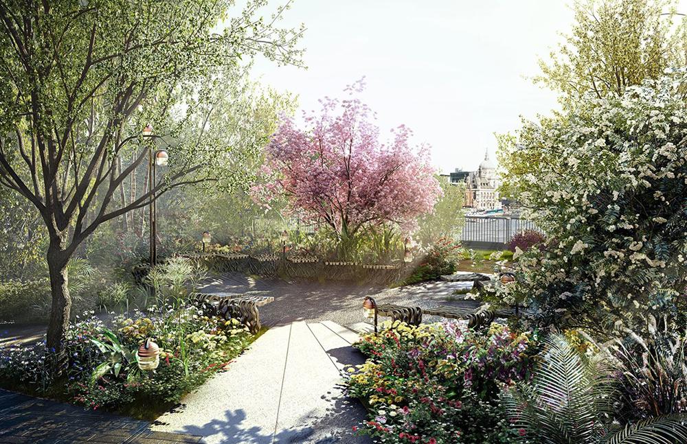 Garden Bridge Final Plans