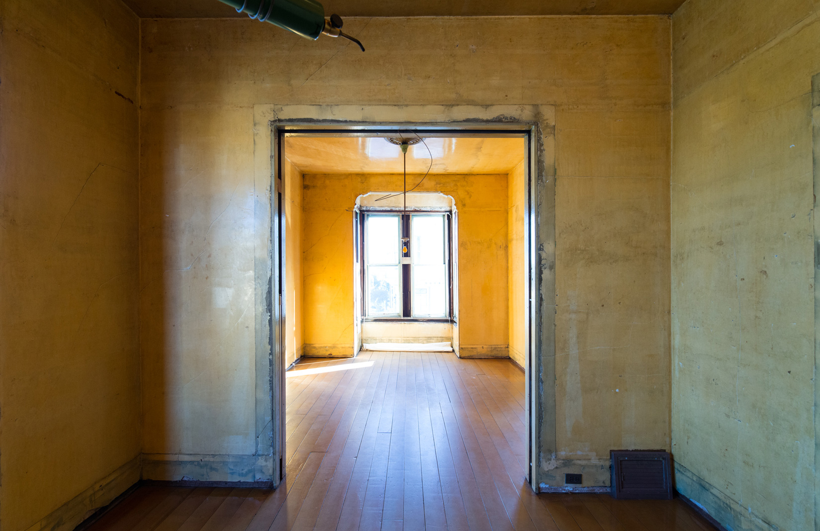 500 Capp Street, yellow room. Courtesy of 500 Capp Street Foundation