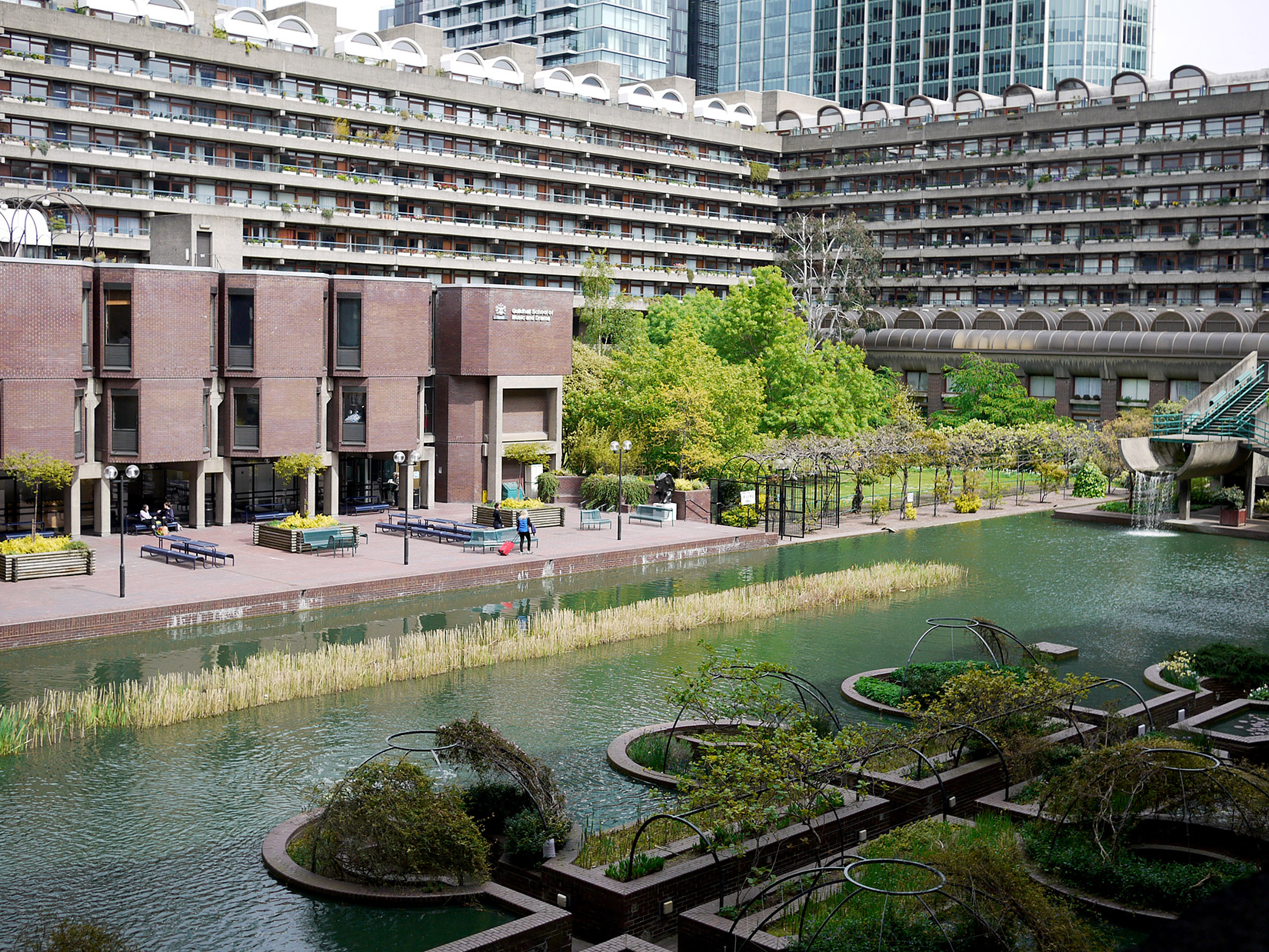 Brutalist Beauty The Barbican Estates Value Soars