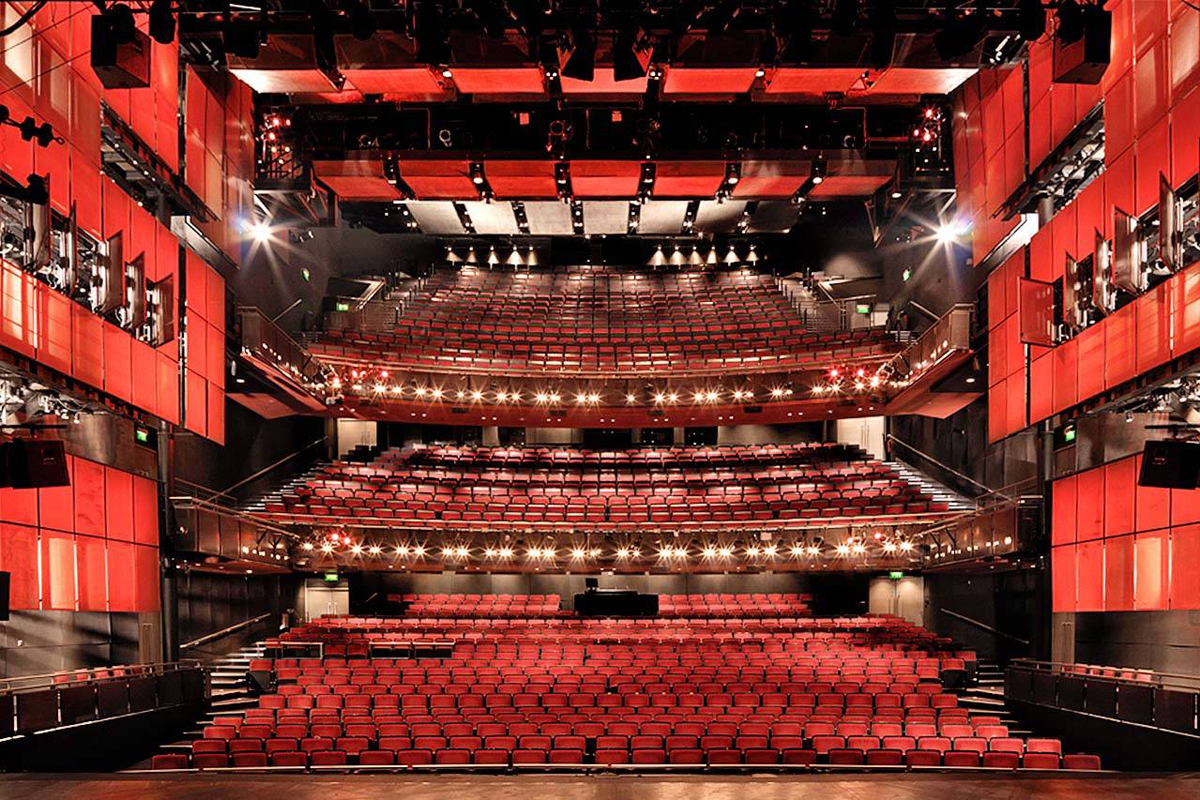 Inside Sadler's Wells theatre