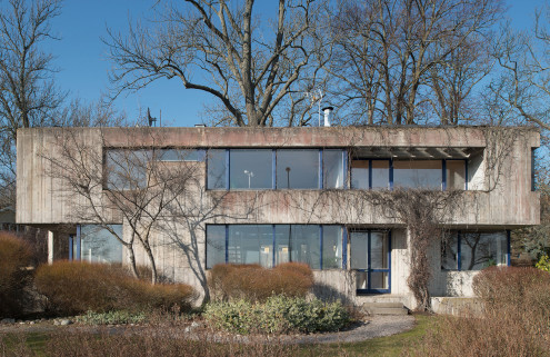 House of the week: a Brutalist home by a Le Corbusier protégé in Sweden