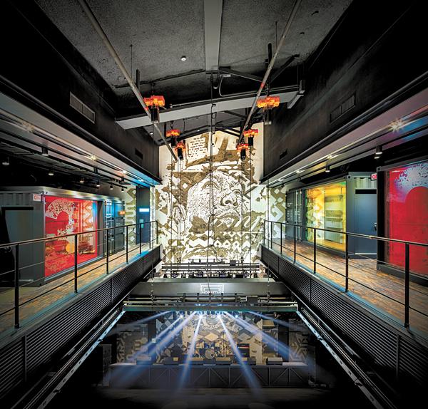Hyundai Music Library + Understage atrium